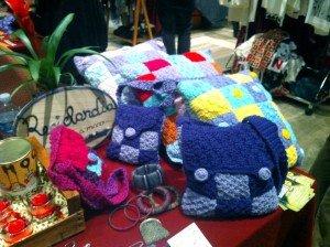 """borse di lana """"Riciclandia"""""""