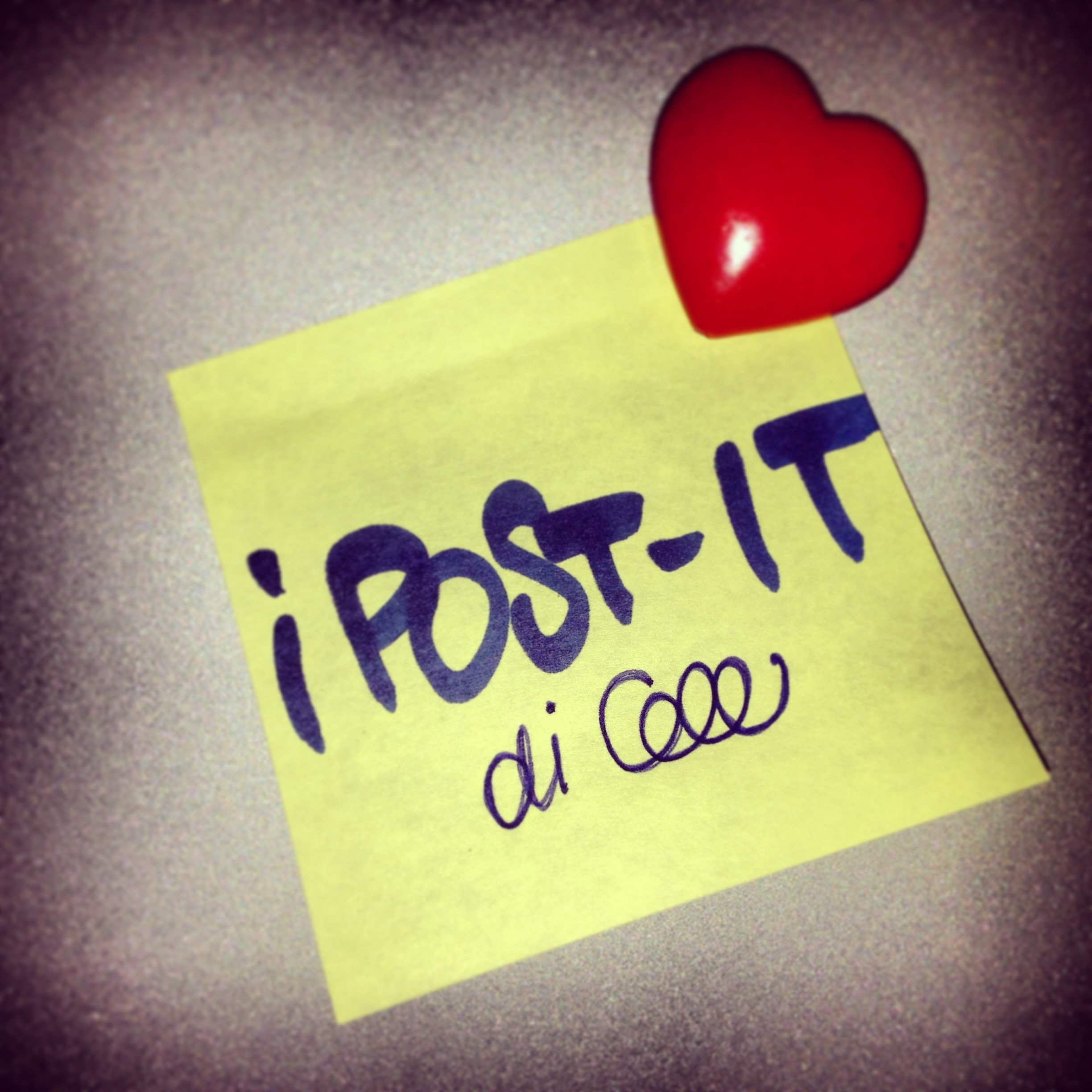 Io lo dico con i POST-IT
