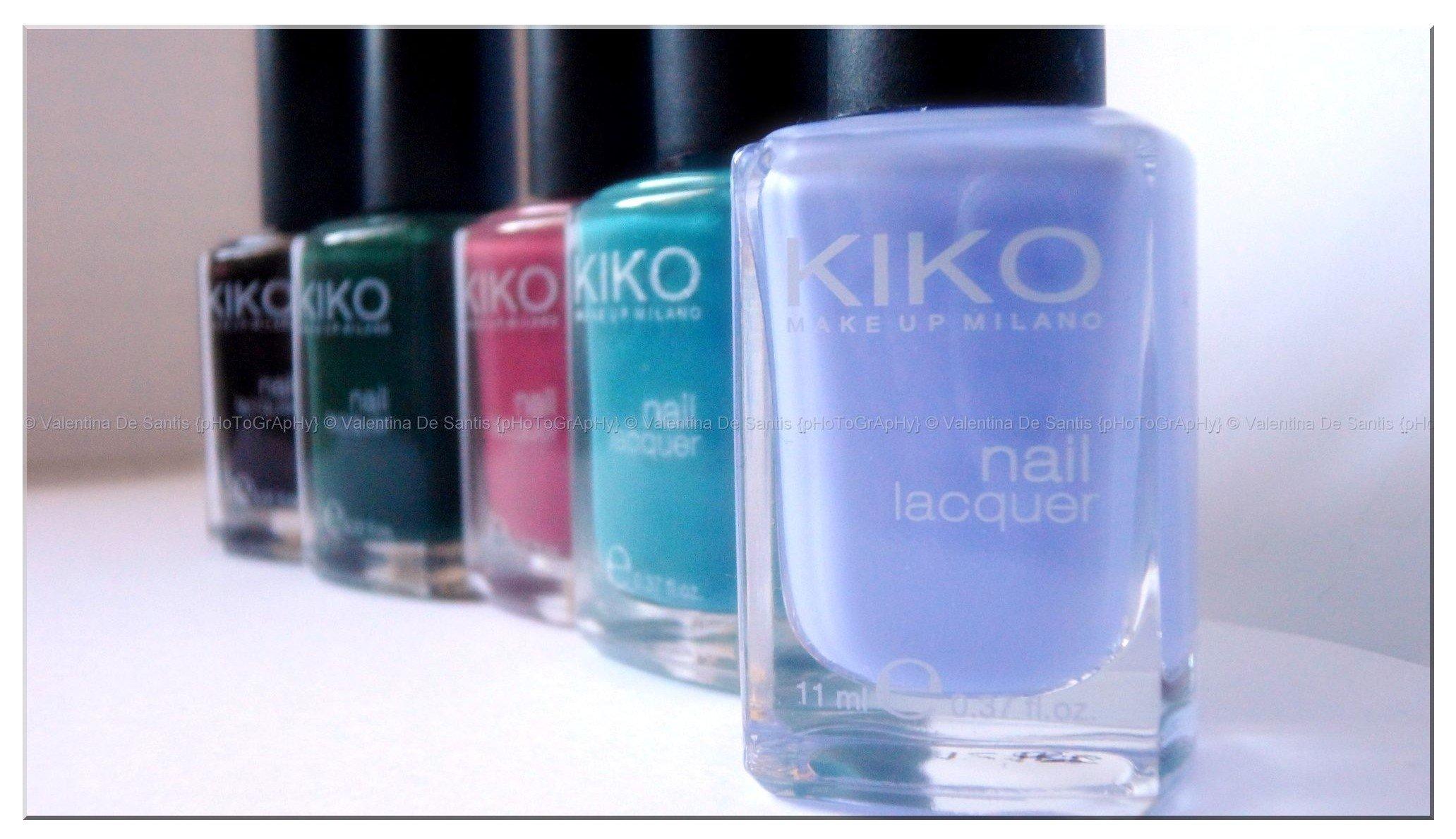 Unghie bicolori scratchate con il regalo di Kiko!