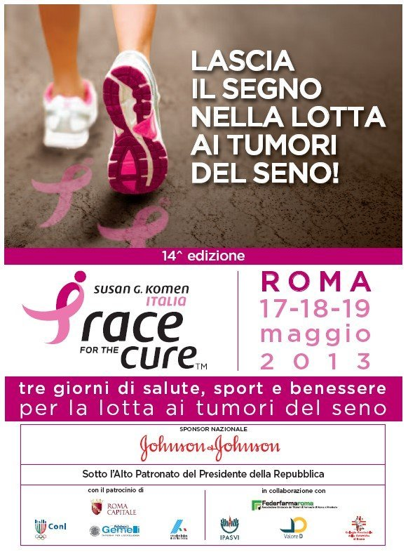 Pronti per la Race for the cure?