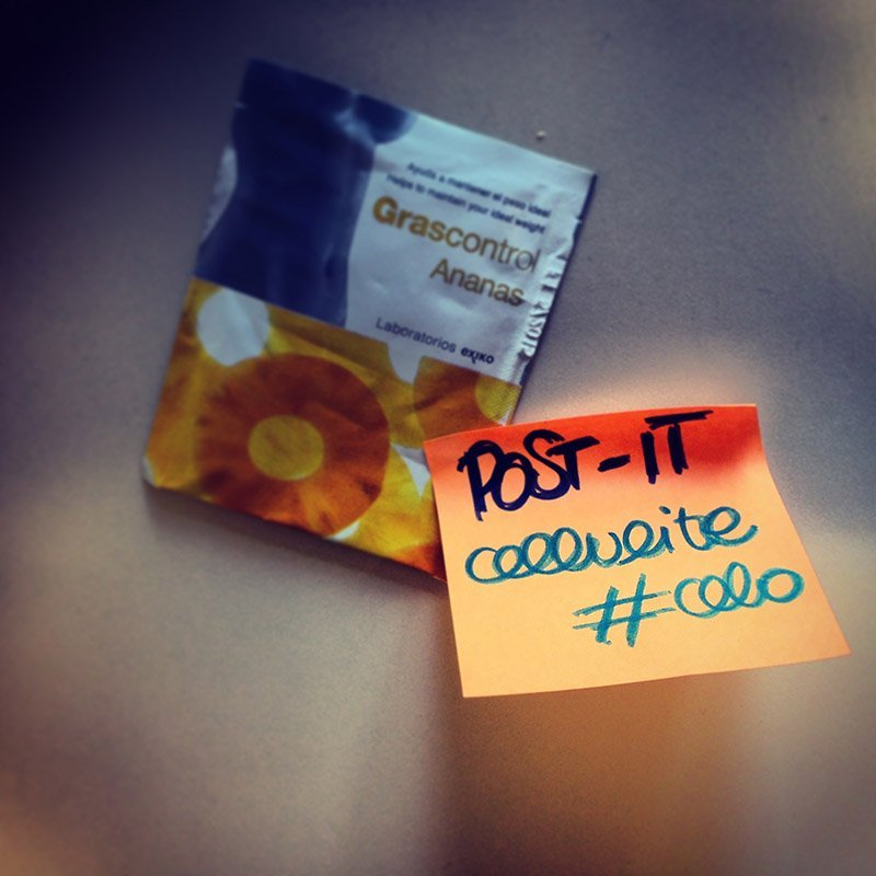POST-IT: cellulite #celo