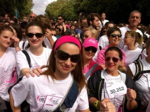 Race for the cure 2013: gruppetto Blogandthecity