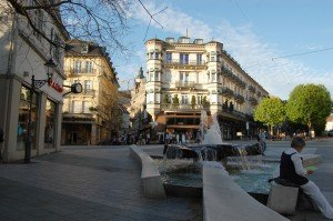 Leopold square, Baden Baden