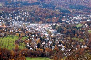 Vista da Merkure, Baden Baden