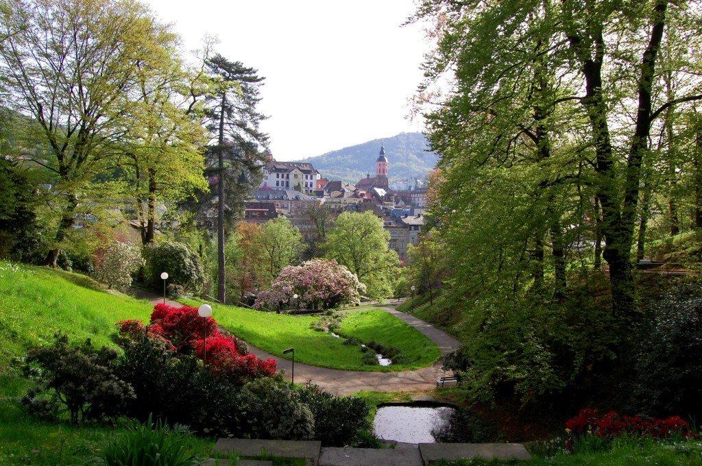 Vista da Michaelsberg, Baden Baden