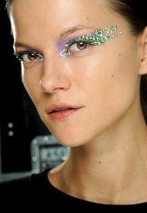 Trucco Dior Swarovsky occhi