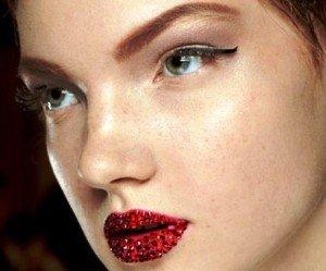Trucco labbra Dior Swarovsky