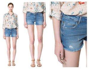 Zara, shorts a 39,90
