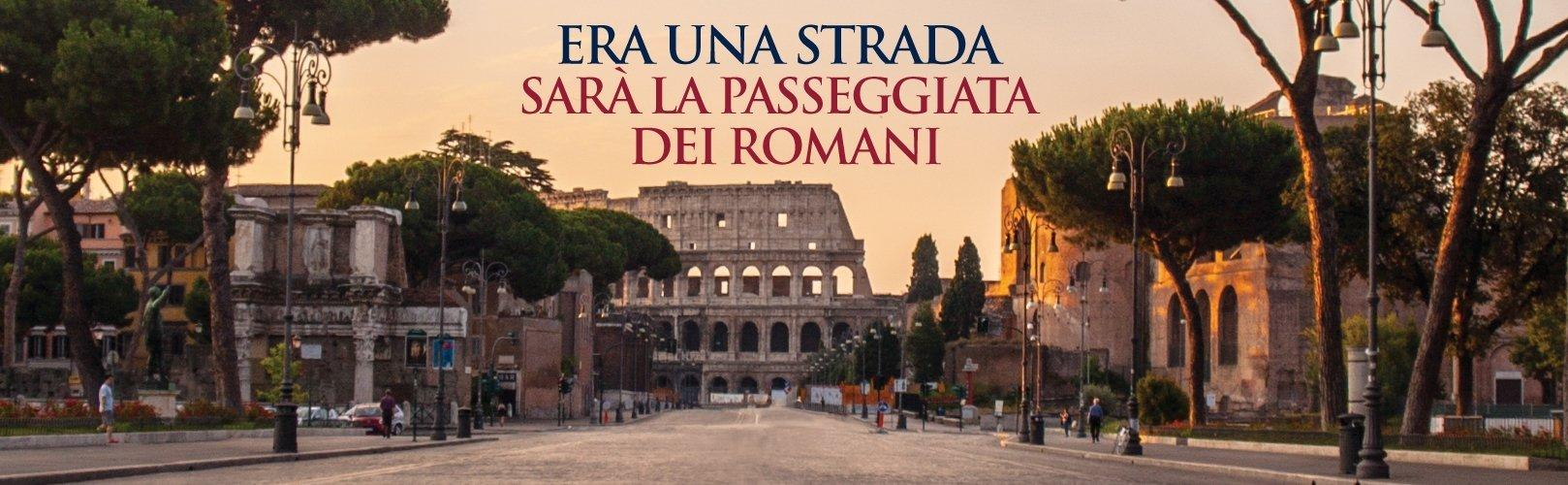 La passeggiata dei Romani e la notte bianca dei Fori Imperiali