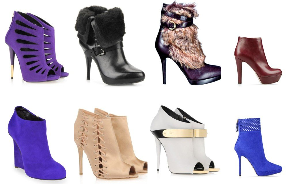 Tendenze 2013-2014: i tronchetti o ankle boots !