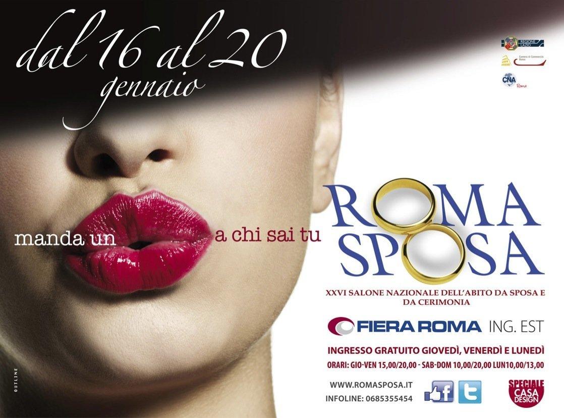 Roma Sposa 2014…ora anche in un App!!