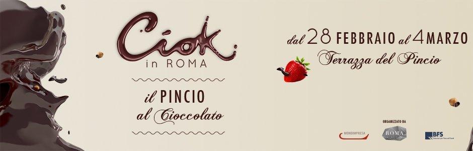 CIOK in Roma: tutto il cioccolato che avete mai desiderato!