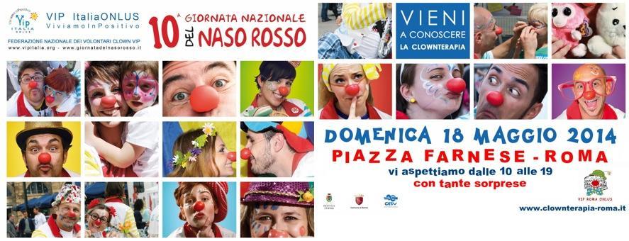 I nasi rossi invadono di nuovo Piazza Farnese!