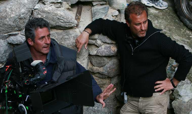 Andrea Costantini sul set 5