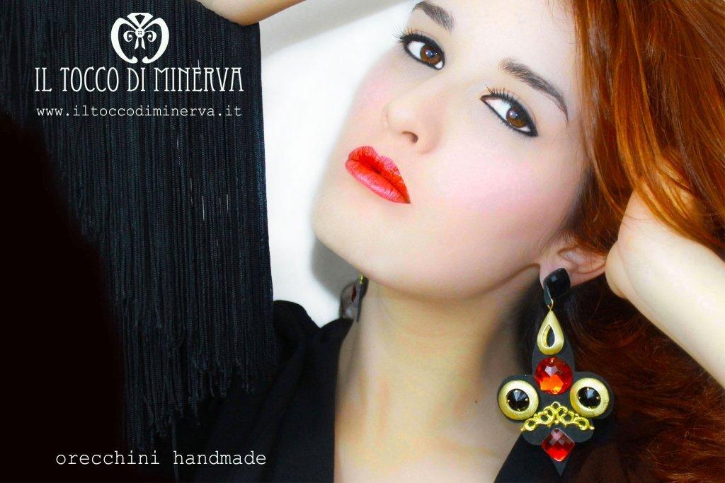 Orecchini il tocco di Minerva