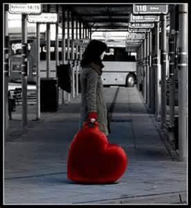 cuore a valigia