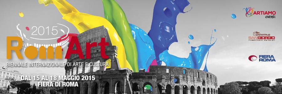 RomArt 2015: la prima edizione della Biennale Internazionale di Arte e Cultura