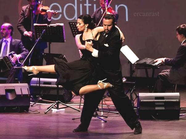 Tango argentino Giampiero e Francesca Instanbul
