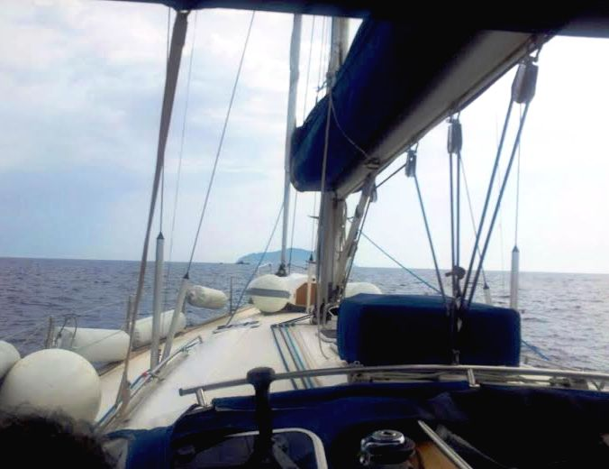 Weekend in barca a vela Ponza