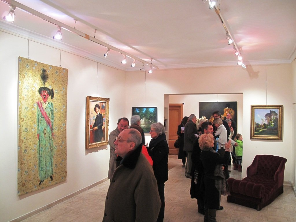 Maja galleria d'arte inaugurazione