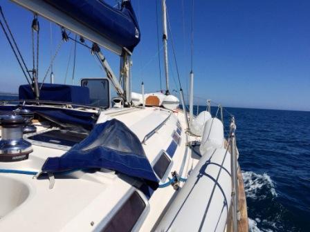 Regatiamo per l'Africa barca a vela 2