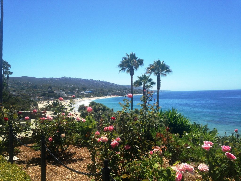 California on the road - Laguna beach