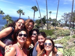 California on the road - San Diego Laguna beach group