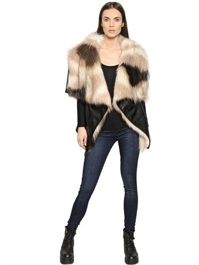 Tendenze autunno inverno 2015 gilet pelliccia gilet Urbancode Luisaviaroma