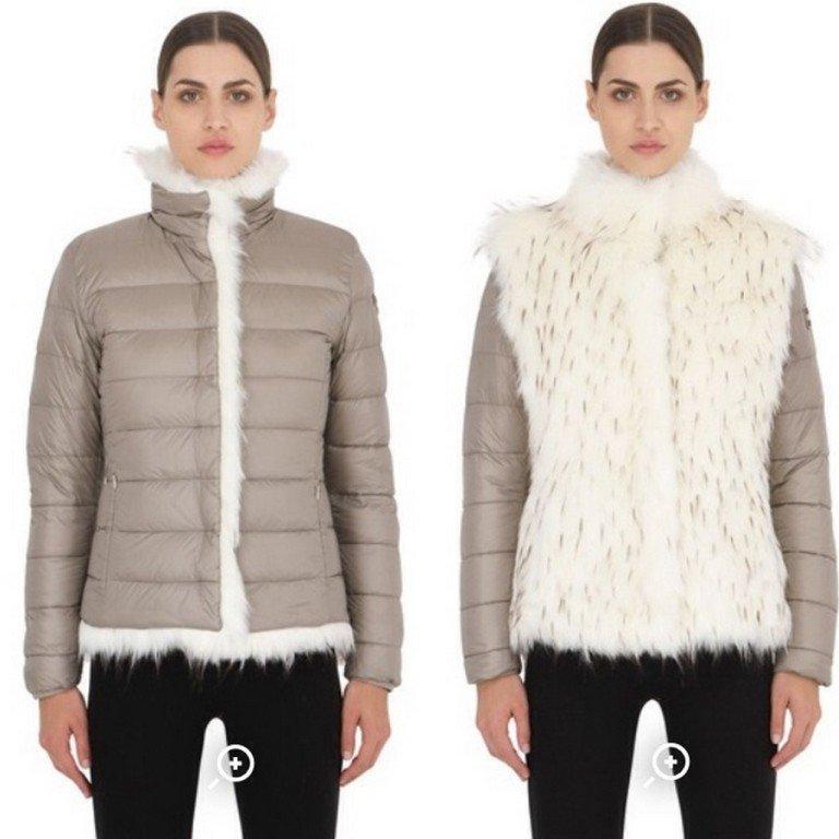 Tendenze autunno inverno 2015 gilet pelliccia piumino reversibile Luisaviaroma 2