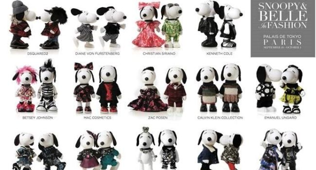 Belle in fashion snoopy