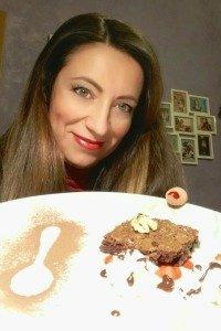Brownies al cioccolato presentazione Ele