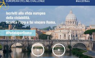 Gara europea in bici Roma