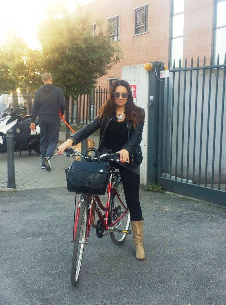Gara europea in bici Roma Elenia