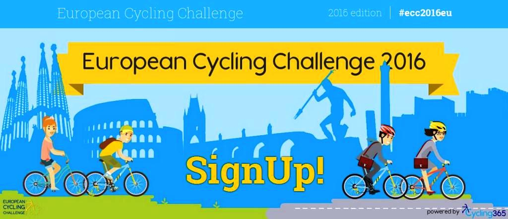 Gara europea in bici