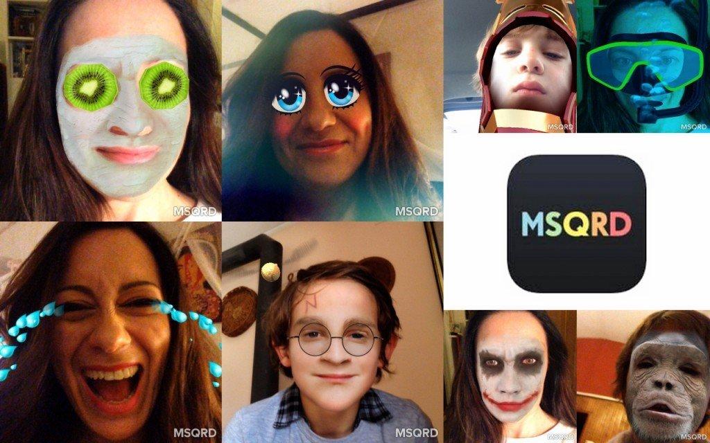 MSQRD: un'applicazione che vi cambierà….la faccia