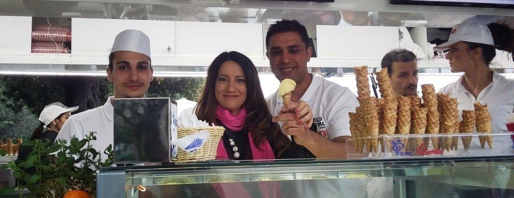 Festival del gelato 2016 stand cannolo siciliano cop