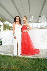 Alta moda e solidarietà Eleonora Altamore e l'attrice Patrizia Pellegrino