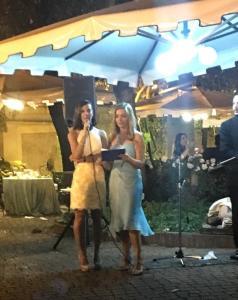 Serata summer Brancaccio Laura Pieralisi Antonietta