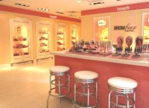 Benefit Brow Bar.  (PRNewsFoto/Benefit Cosmetics)
