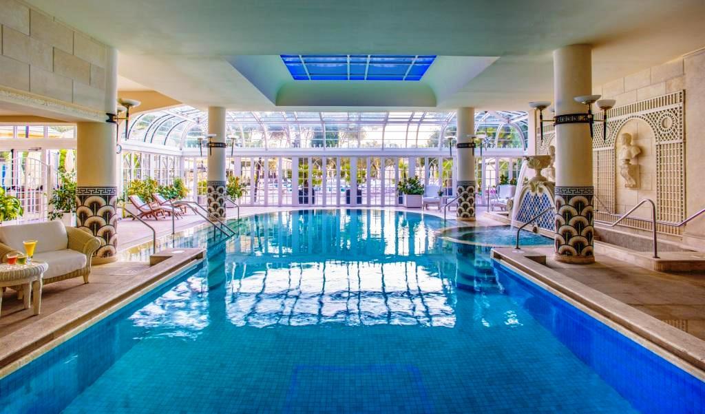 Indoor pool daytime low
