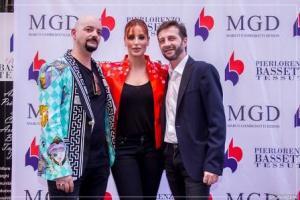 Pierlorenzo Bassetti, Simona Borioni e Marco Gambedotti