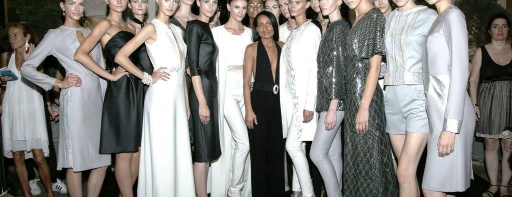 Sabrina Persechino con le modelle