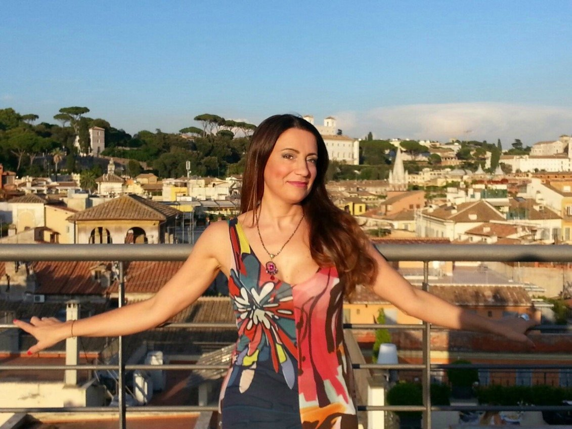 La terrazza del The First Luxury Art Hotel: Roma come non l'avete mai vista!