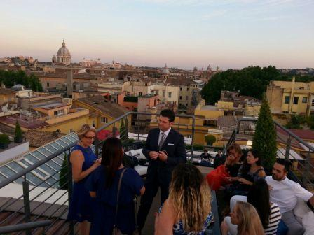 Blog and the City - La terrazza del The First Luxury Art Hotel ...