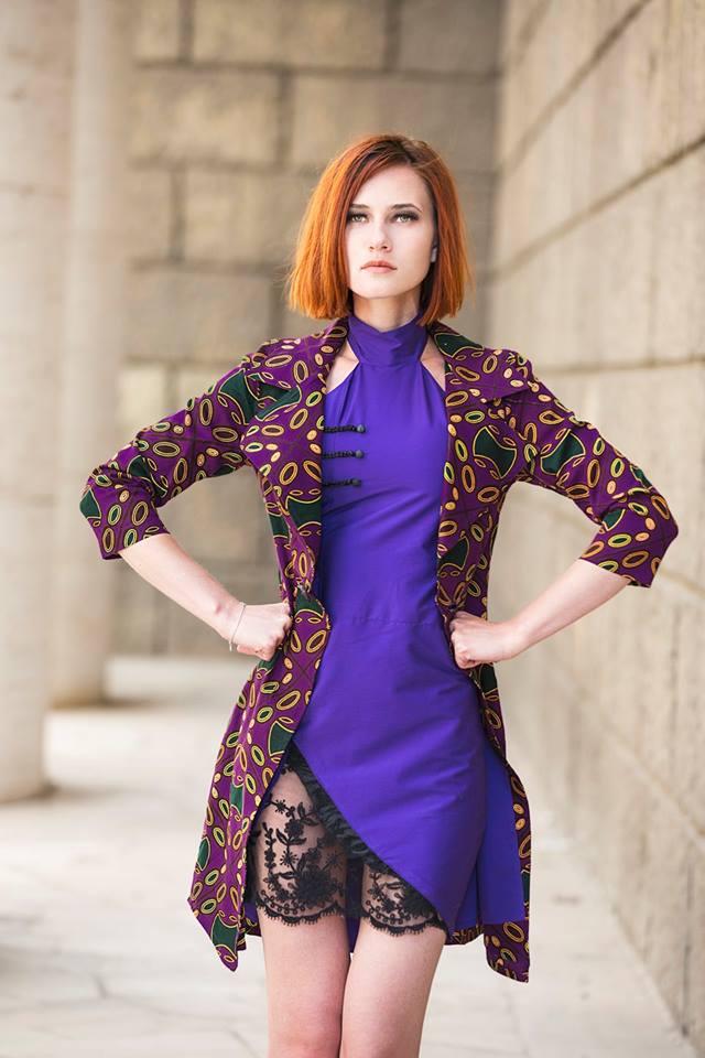 Drusilla Clothing nuova collezione Melting Pot viola