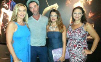 Con Andrea Angione, Antonietta di Vizia e Carmen De Falco