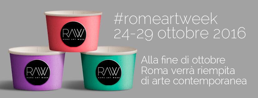 Rome Art Week: dal 24 al 29 ottobre Roma si riempie di Arte Contemporanea
