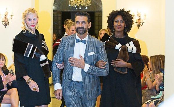 Tendenze moda: Roberto Cagnetta presenta le sue pellicce colorate e double face