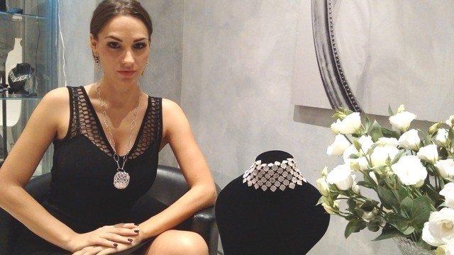 """Gaia Caramazza presenta la nuova collezione di gioielli in Via Margutta – """"Scrigno Collection"""""""
