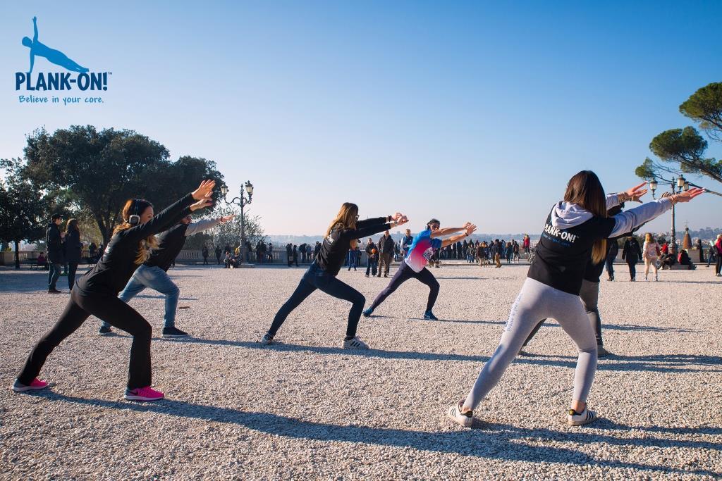 Urban Mission Training fitness in città ideato da Plank-On!